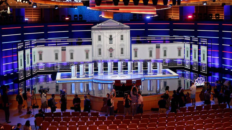 2020 Democratic hopefuls set to take the stage in first debate