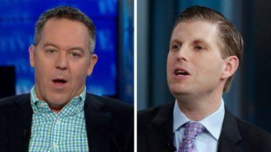 Gutfeld on Eric Trump reportedly being spat on in Illinois
