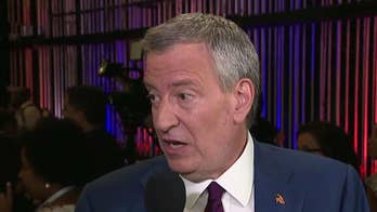 New York City Mayor Bill de Blasio reflects on the first 2020 Democratic presidential debate