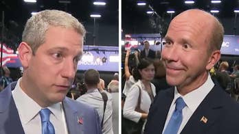 Democratic presidential candidates Tim Ryan and John Delaney take on their own party during debate