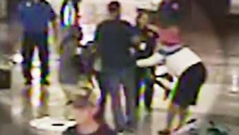 Video shows a woman snatching a child from her mother's side