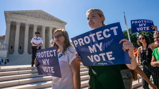 The left warns of long-term electoral impact of Supreme Court's decisions on gerrymandering, the census