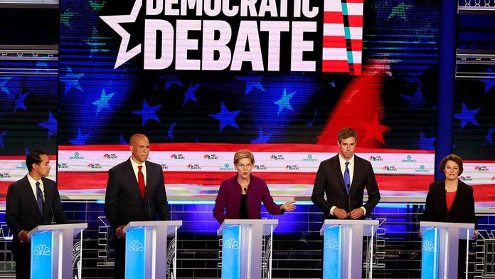 Adam Brandon: Either 72 percent of Americans are wrong or 10 Dem 2020 hopefuls are -- My money is on the Dems