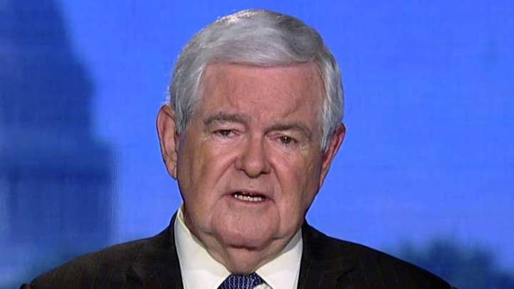 Gingrich on first Democrat debate: None of these people are going to challenge Trump