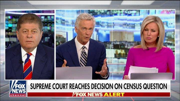 Judge Andrew Napolitano on SCOTUS blocking citizenship question from census.