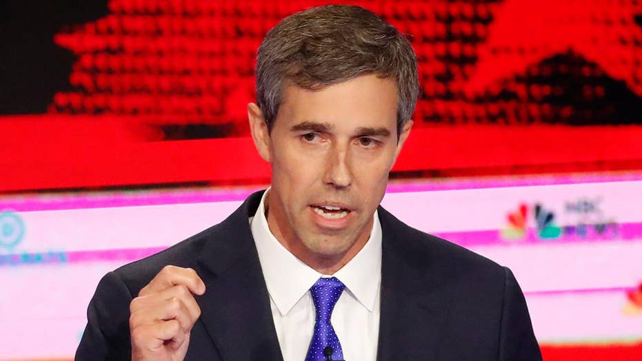 Beto O'Rourke on defense at first 2020 Democrat primary debate