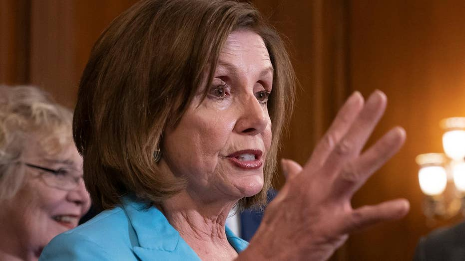 Nancy Pelosi underneath vigour to broach sovereign appropriation to palliate charitable predicament during a border