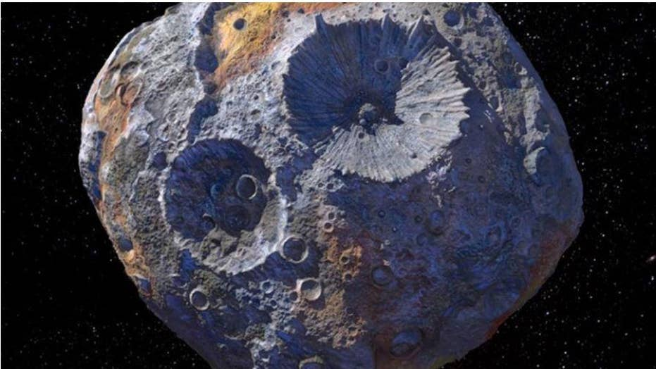 Asteroid discovered 170 years ago could be worth $  10,000 quadrillion