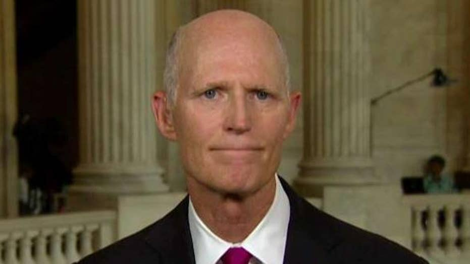 Sen. Scott: Why don't Democrats want to secure the border?