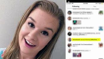 Friends of Mackenzie Lueck report activity on her Instagram account to authorities