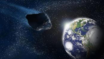 Astronomers discovered asteroid just hours before impact