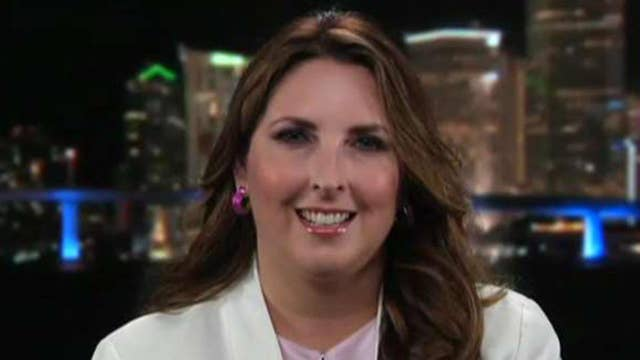 RNC chairwoman: Frightening to see how far left the Democratic Party has gone