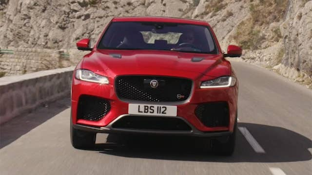 2019 Jaguar F-Pace SVR test drive