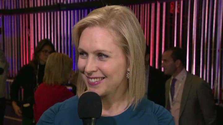 Democratic presidential candidate Kirsten Gillibrand says debate over third term abortions is a red herring