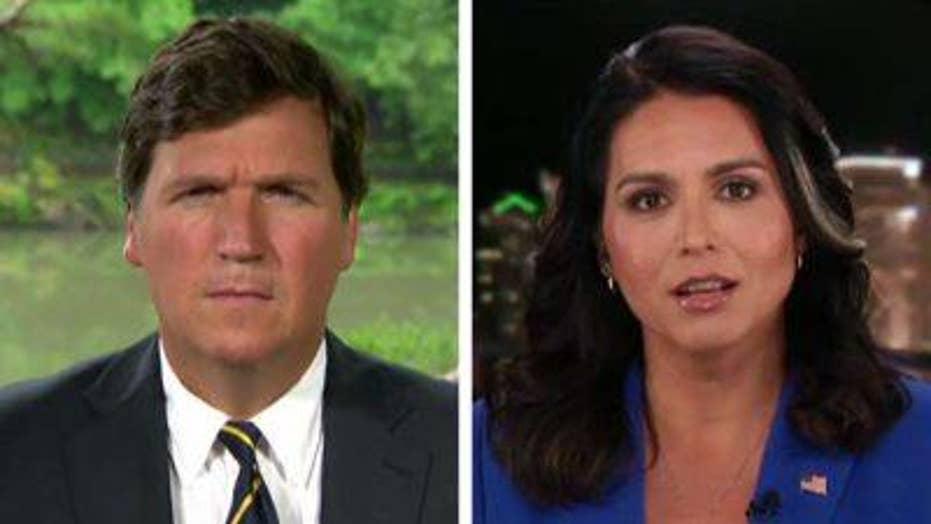 Tulsi Gabbard reacts to Iran, debates on 'Tucker Carlson Tonight'