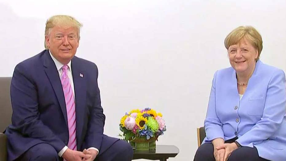 Trump adresses Democratic debates while in Japan for G20 Summit
