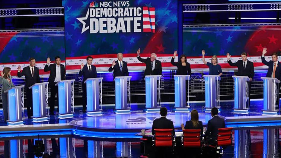 Who were the winners, losers of the second Democratic debate?