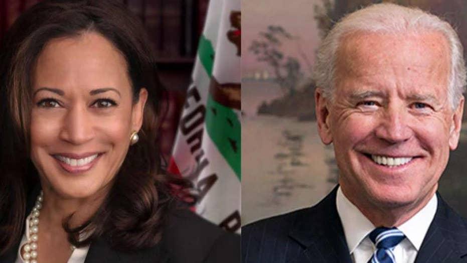 Kamala Harris takes Joe Biden to charge on race, busing record