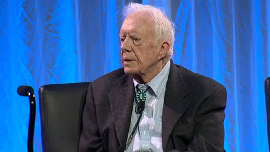 Jimmy Carter: Donald Trump is an illegitimate president