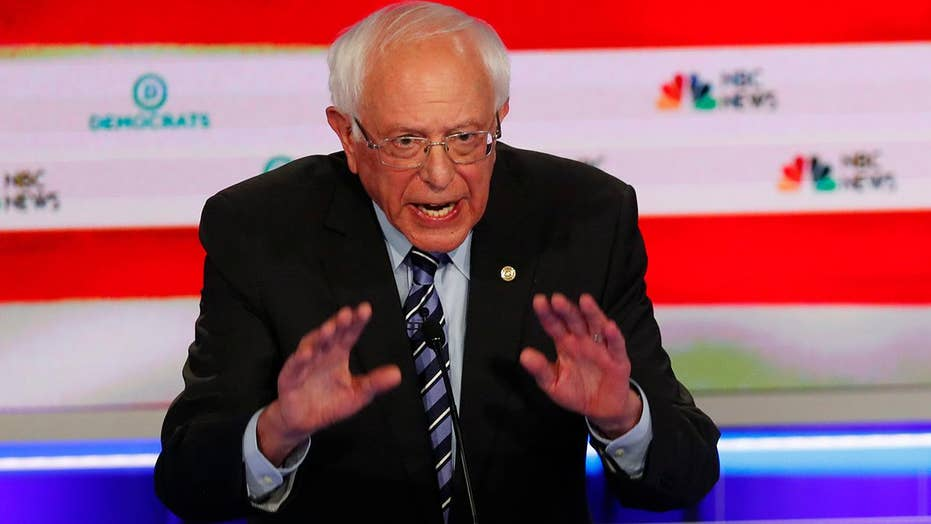 Bernie Sanders touts 'Medicare-for-all' plan during first 2020 Democratic presidential debate