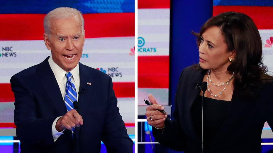 Kamala Harris takes on Joe Biden over race issues during 2020 Democratic presidential debate