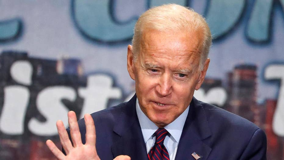 Joe Biden on defense after attack on race record