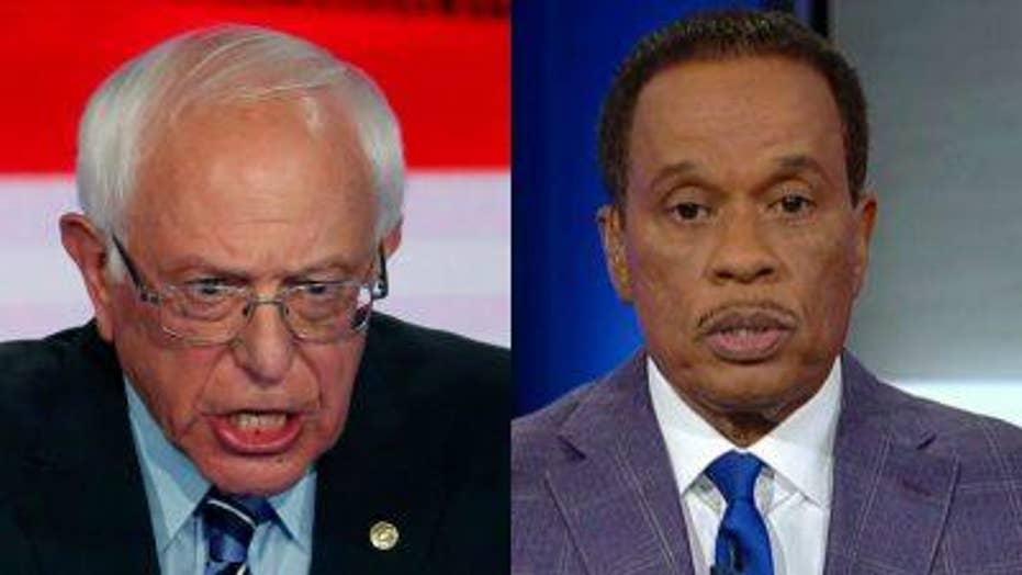 Juan Williams on 2020 field, Bernie Sanders' performance in debate