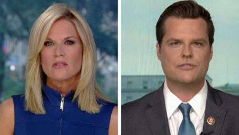 Rep. Gaetz reacts to being investigated by House Ethics Committee