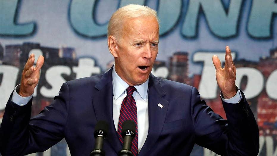 2020 Democratic candidates take aim at Joe Biden during debate