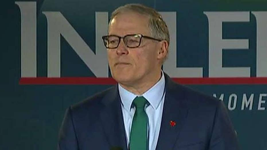 Washington Governor Jay Inslee touts sanctuary state law