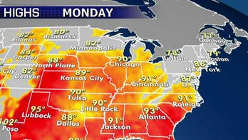 National forecast for Monday, July 1: Summer heatwave continues