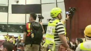 Hong Kong protesters break into legislature