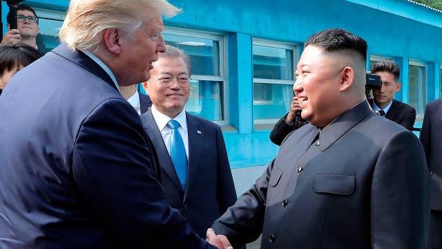 President Trump, Kim Jong Un agree to resume denuclearization talks