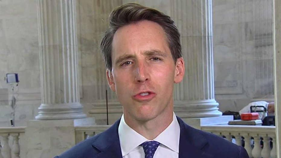 Sen Hawley proposes legislation against Big Tech's legal protection