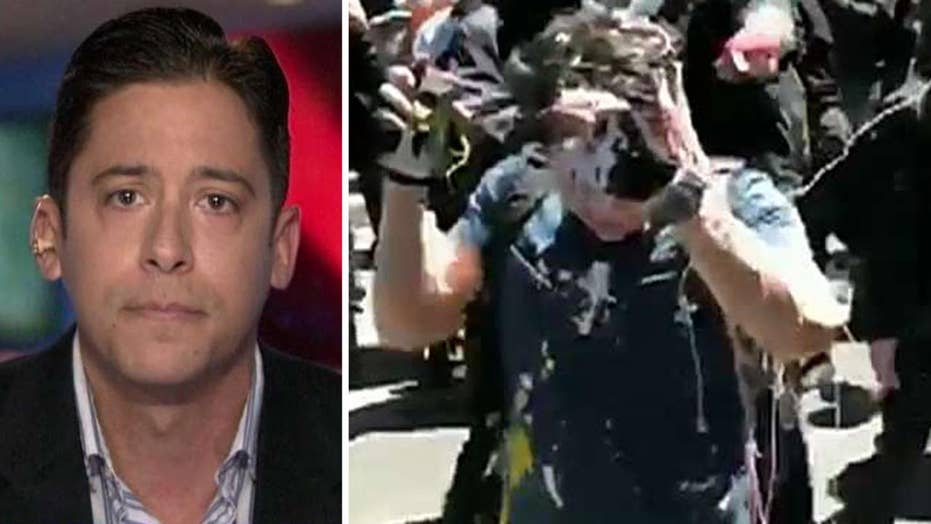 Michael Knowles says media, politicians are turning a blind eye to attacks on conservatives