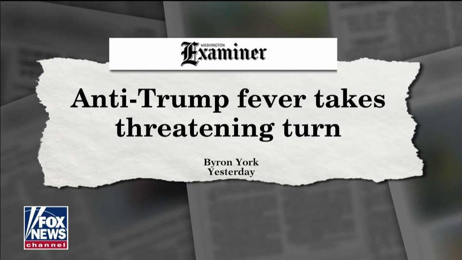 York: Three 'troubling developments' show anti-Trump resistance growing more toxic