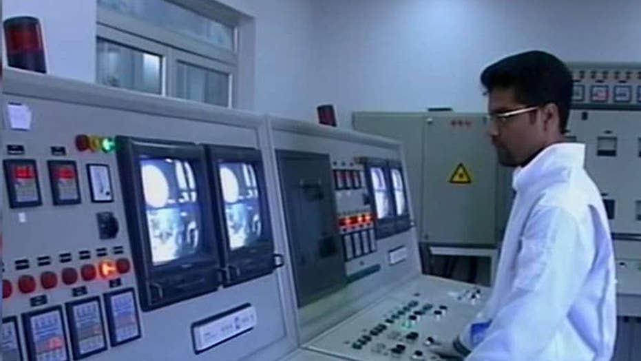Iran says it has exceeded uranium stockpile limits set by nuclear deal