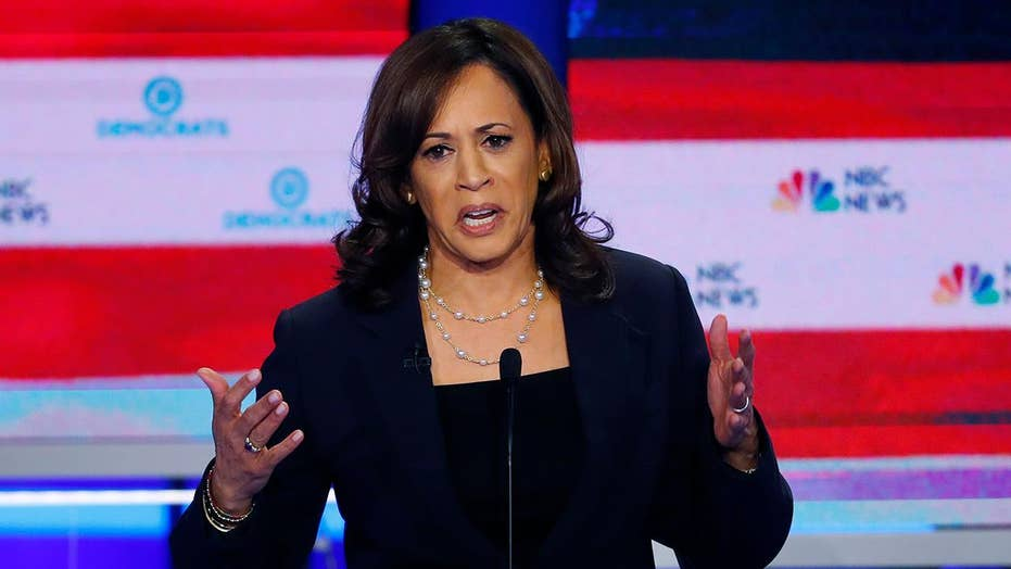 Kamala Harris stands by decision to confront Joe Biden at debate
