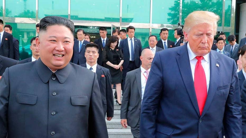 President Trump's historic visit to North Korea draws mixed reactions
