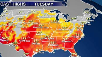 National forecast for Tuesday, July 2