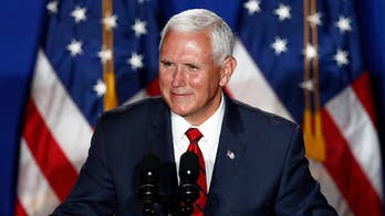 Pence鈥檚 office tight-lipped after VP abruptly cancels New Hampshire trip to return to White House