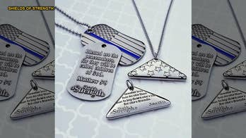 'Shields of Strength' arming military and law enforcement with faith-based patriotic support