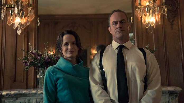 'The Handmaid's Tale' Season 3 actor Christopher Meloni says co-star Elizabeth Moss 'had a lot to say'