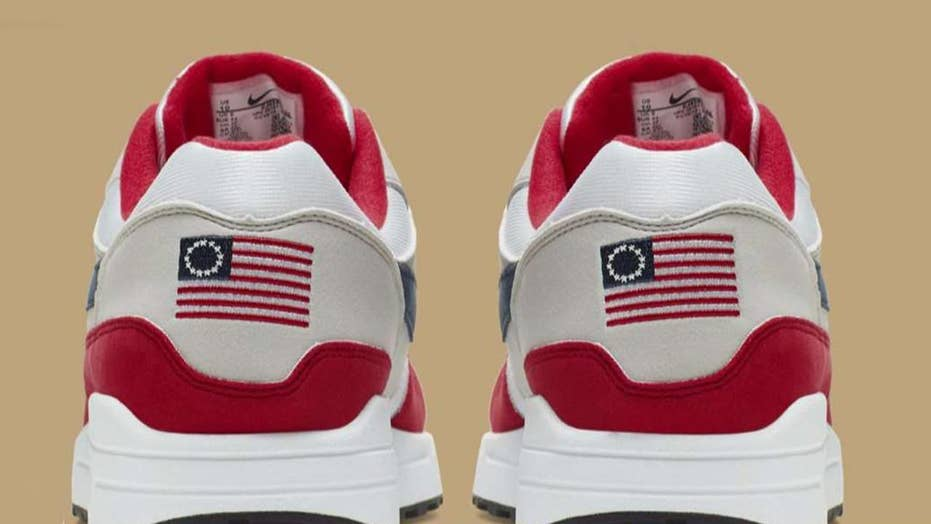 Nike pulls 'Betsy Ross Flag' sneaker after Colin Kaepernick raises concern.