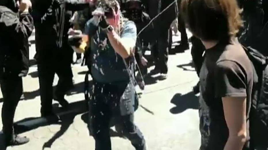 Attorney for reporter attacked during Portland Antifa protest plans to hold city government accountable