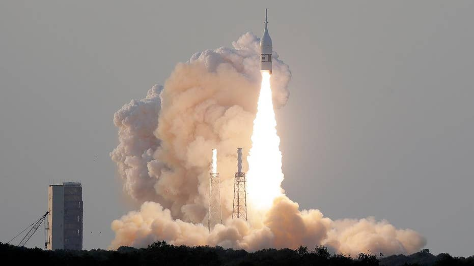 NASA successfully tests the Orion spacecraft's launch abort system