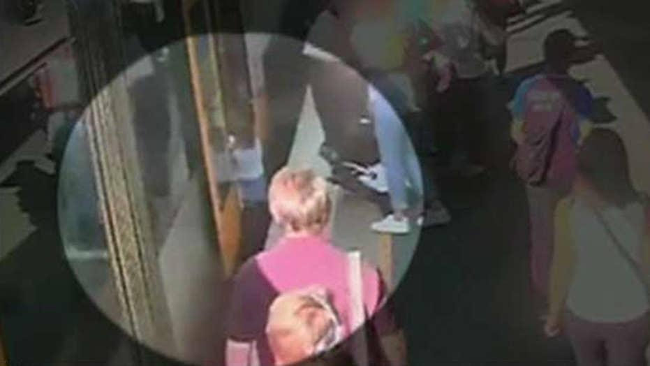 Boy falls into gap between train and platform in Australia