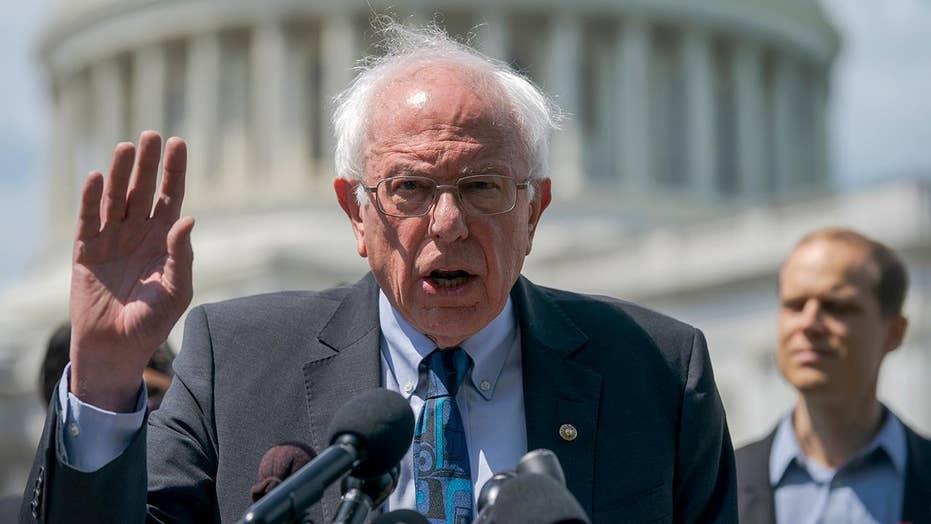 Bernie Sanders announces fundraising haul amid slide in polls