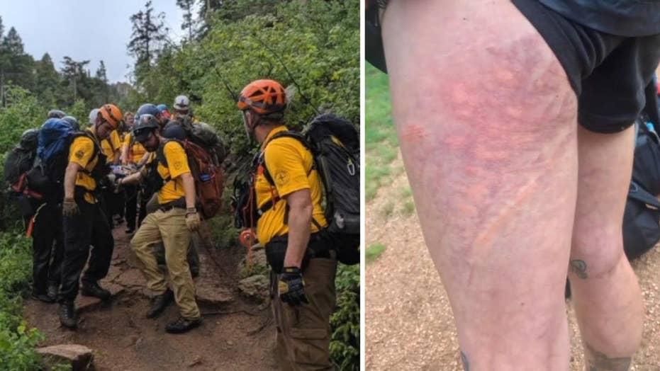 8 hikers injured, 1 critically by lightning strike on Colorado trail