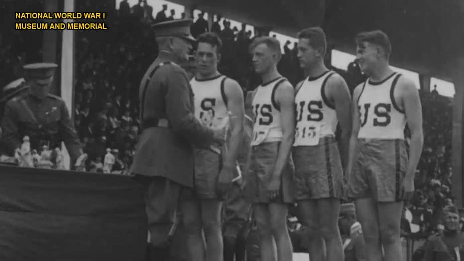 American soldiers who served in World War I competed in 'Olympic-style' Inter-Allied Games